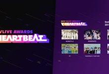 Photo of ดูคอนที่เกาหลี: 2019 V Live Awards 'V Heartbeat'