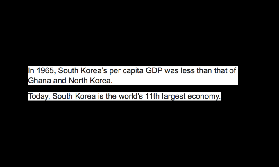 South Korea's economy