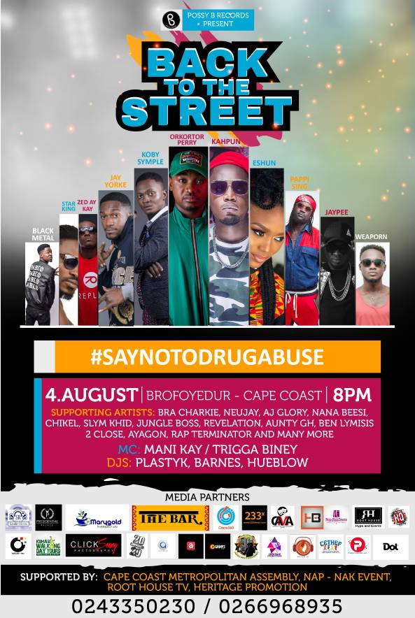 Back To The Street Concert - Say No To Drug Abuse