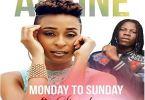 Download MP3: Alaine – Monday To Sunday Ft. Stonebwoy (Prod by Willis Beatz)