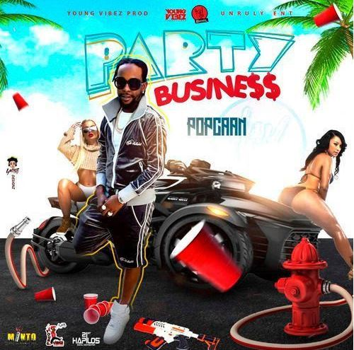 Download MP3: Popcaan – Party Business (Prod by Young Vibez)