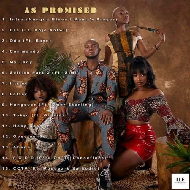 Full Tracklist For King Promise's Album 'As Promised'