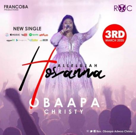 Obaapa Christy – Hallelujah Hosanna mp3 download