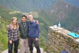 Johan, Rebecca och RIchard