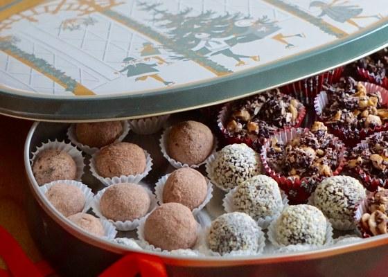 Nyttigare julgodis, utan raffinerat socker