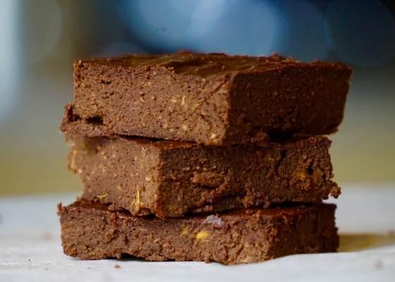 Sötpotatisbrownie – glutenfri brownie utan nötter och mjölk