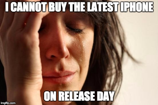 Funny Friday - First World Problems