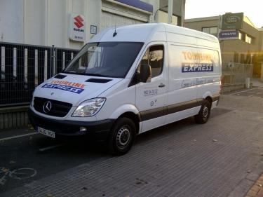 Mercedes Spinter GNV - Tourline Express Igualada