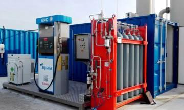 El surtidor HAMikro, desarrollado por HAM, permite repostar biometano