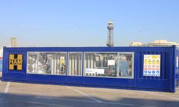 Grupo HAM participa en el Proyecto Innovación Core LNGas, diseñando y fabricando una unidad móvil que proporcionará gas qie alimentará un generador eléctrico