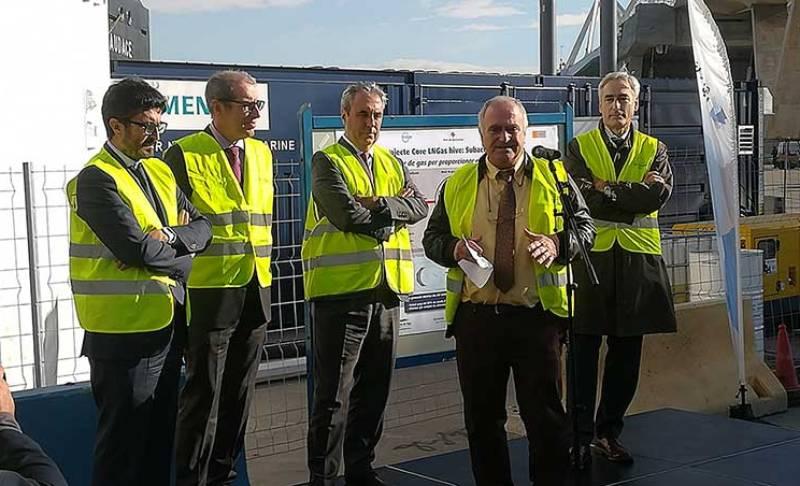 Grupo HAM ha acudido a la inauguración de la unidad móvil GNL que ha diseñado y fabricado dentro del Proyecto Core LNGas en el Port de Barcelona