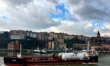 HAM Bunkering del buque Oizmendi en Bilbao