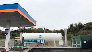 HAM Italia inaugura una nueva estación GNL / GNLC en Riano ( Roma)