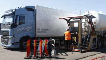 HAM GROUP SELECTED TO FUEL VOLVO GAS POWER TRUCKS
