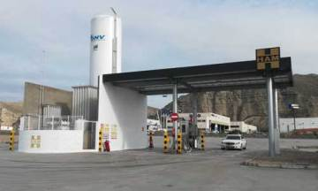 HAM abre estación de servicio gas natural licuado y comprimido en Alfajarín, Zaragoza