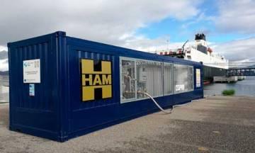 HAM inaugura unidad móvil en el Puerto de Vigo con el Proyecto de Innovación Core LNGas