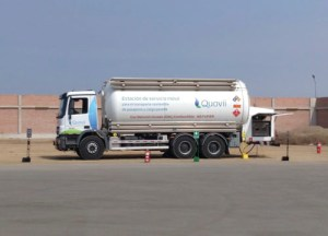 HAM opens LNG mobile station in South America