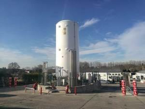 Grupo HAM abre en Noreña su primera estación de servicio de Asturias, con suministro de gas natural comprimido (GNC) y licuado (GNL)