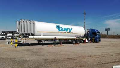 HAM Group Grupo HAM has opened a liquefied natural gas (LNG) mobile unit in Ribaj-roja de Túria, Valencia