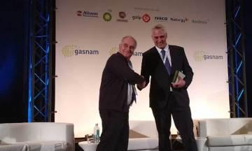 Grupo HAM, durante la celebración del VII Congreso Gasnam, ha sido premiado con el galardón Emprendimiento Medioambiental