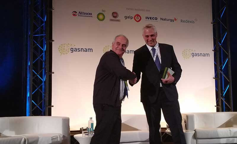 HAM Group has received the Environmental Entrepreneurship Prize, which was collected by Antonio Murugó during the celebration of the VII Gasnam Congress
