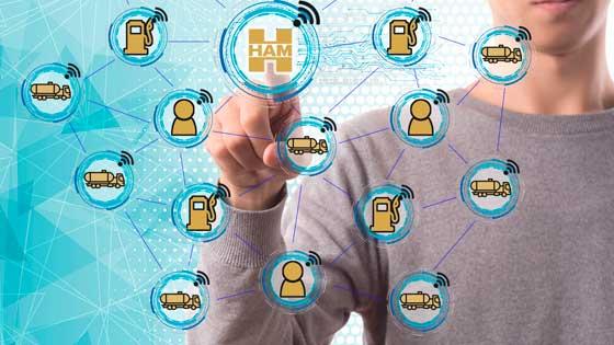 Grupo HAM está conectado a las instalaciones de sus clientes para gestionar incidencias a distancia y para saber cuando aprovisionarlos de GNC, GNL y GNV