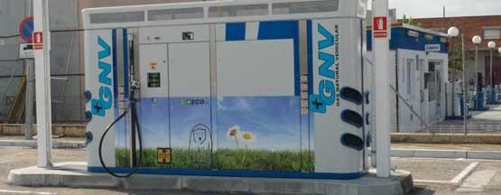 Grupo HAM fue pionera al ser la primera empresa que abrió una estación de servicio con gas natural vehicular en España, abierta para todos los usuarios