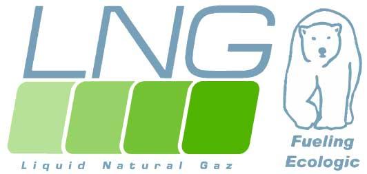 Logo LNG - Liquid Natural Gaz