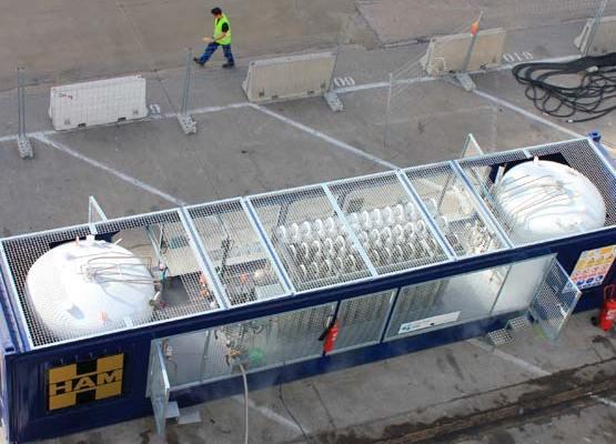 HAM promueve el uso del gas natural licuado en el sector marítimo a través del Proyecto CORE LNGas HIVE financiado por la UE