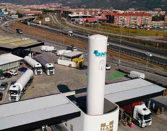 El gas natural licuado es una opción real dentro del ámbito del transporte por carretera y la movilidad