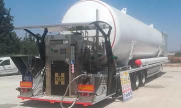 Grupo HAM ha instalado en Murcia una gasinera móvil GNL