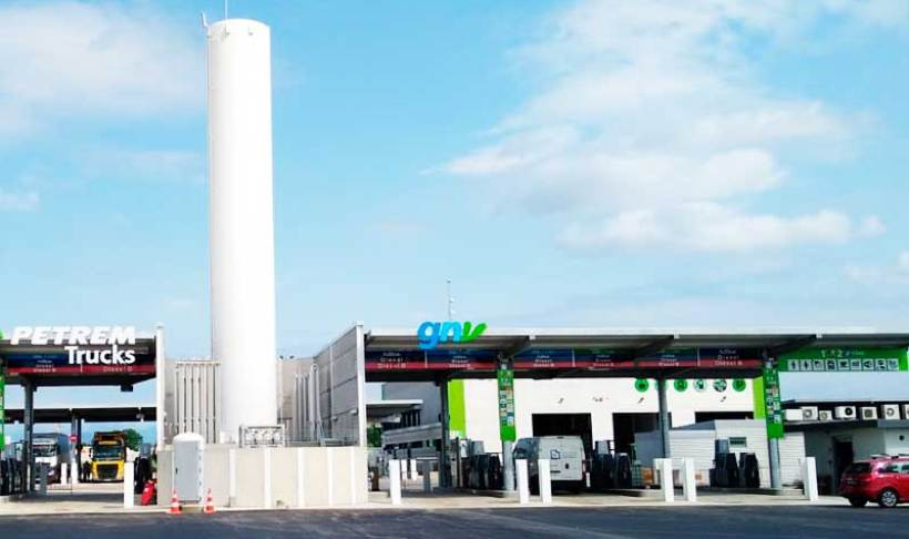 HAM has developed the project for the new Petrem CNG-LNG service station