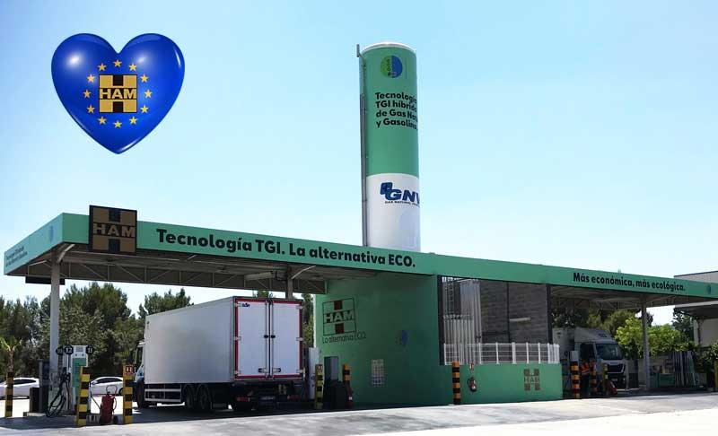 Unidad móvil de Gas Natural Licuado de HAM adquirida por Beroil Fuentecén