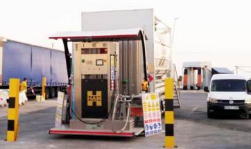 HAM instala una nueva unidad móvil GNL-GNC en Crevillente, Alicante