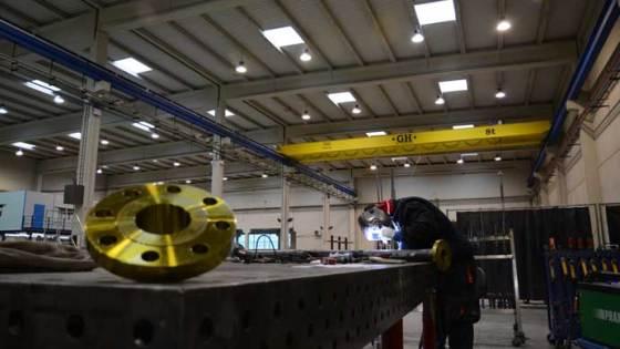 FNX Liquid Natural Gas dispone de instalaciones propias donde fabrica y monta las plantas de licuefacción de gas natural