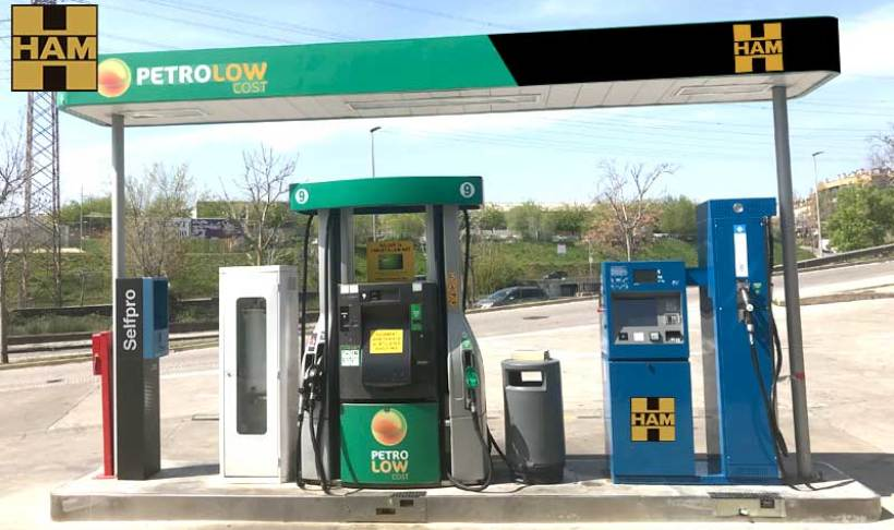 HAM Group has opened in Terrassa, Barcelona, a CNG (Compressed Natural Gas) service station