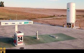 HAM abre nueva estación de servicio de Gas Natural Licuado en Navalmanzano, Segovia