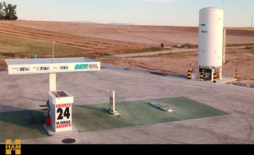 HAM Group opens a new LNG service station in Navalmanzano, Segovia
