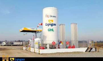 HAM y Lipigas han construido la primera estación de servicio de Gas Natural Licuado de Chile