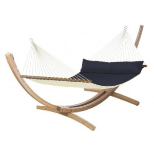 Support hamac Ac 400 avec Alabama navy blue La Siesta