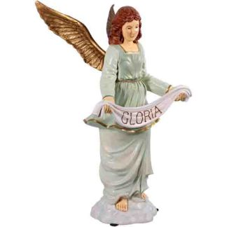 The Nativity Angel Gloria statue