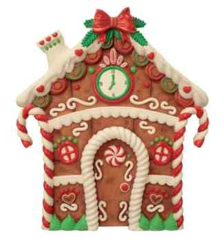Gingerbread House Front prop