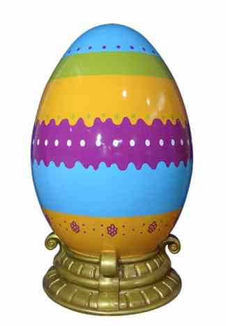 Easter Egg with Base 120cm prop
