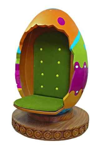 Easter Egg Chair prop