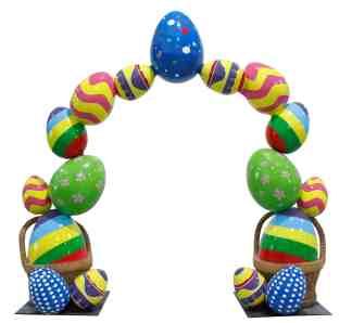 Easter Egg Arch prop