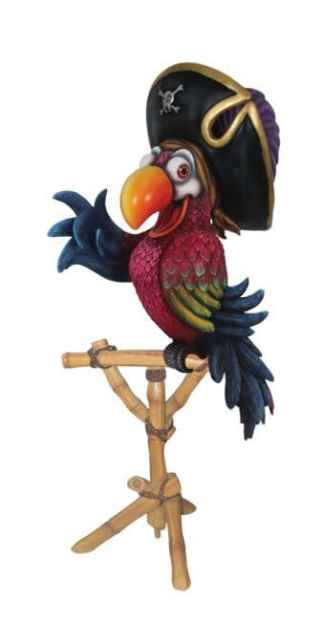 Pirate Parrot with Stand status
