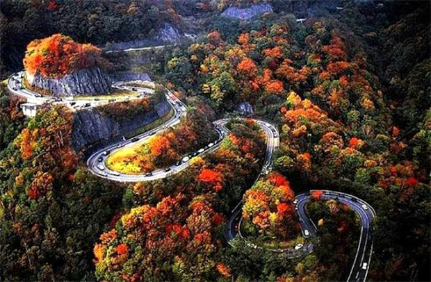 کہیں آتش فشاں کا کنارا تو کہیں حد رفتار... دنیا کی چند حیرت انگیز اور خوبصورت ترین پہاڑی سڑکیں 1