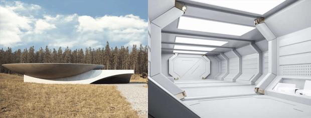 دنیا کے چند ایسے عجیب و غریب گھر جن کے ڈیزائن اور خصوصیات آپ کو حیران کردیں گے 6