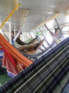 hamacs brésiliens bateau amazone
