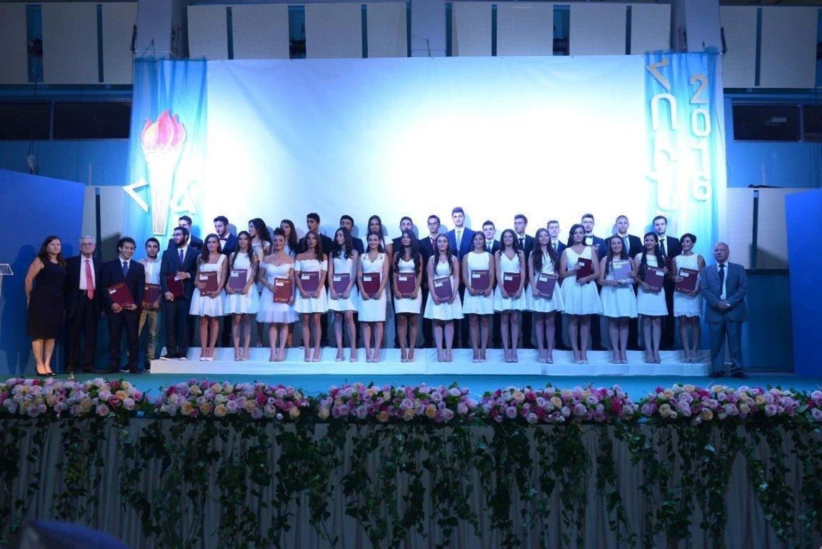 Graduation Ceremony at M. and H. Arslanian Djemaran and Final Grade Certification Granting (Lebanon)